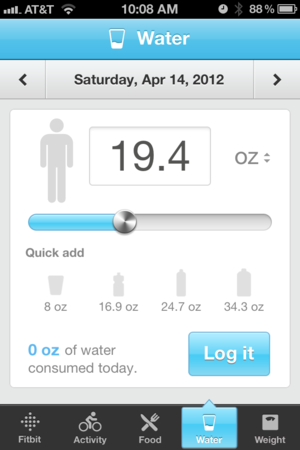 The iPhone App: Water