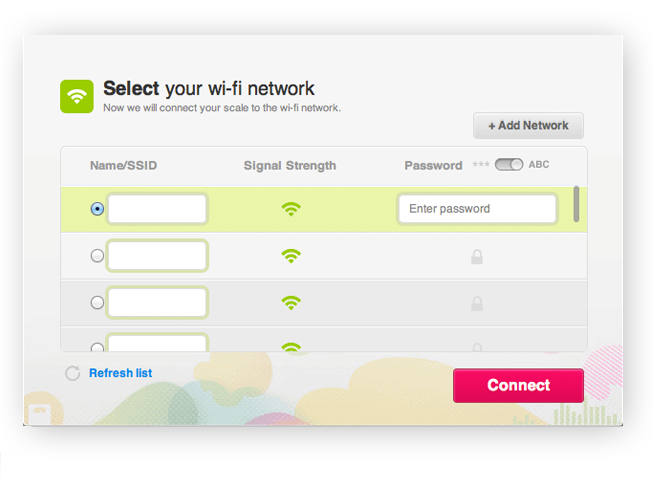Using a Wi-Fi Enabled Computer: Select your wi-fi network