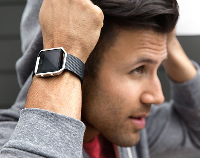 Fitbit Blaze in Black