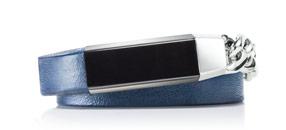 Double Wrap Leather + Metal Bracelet