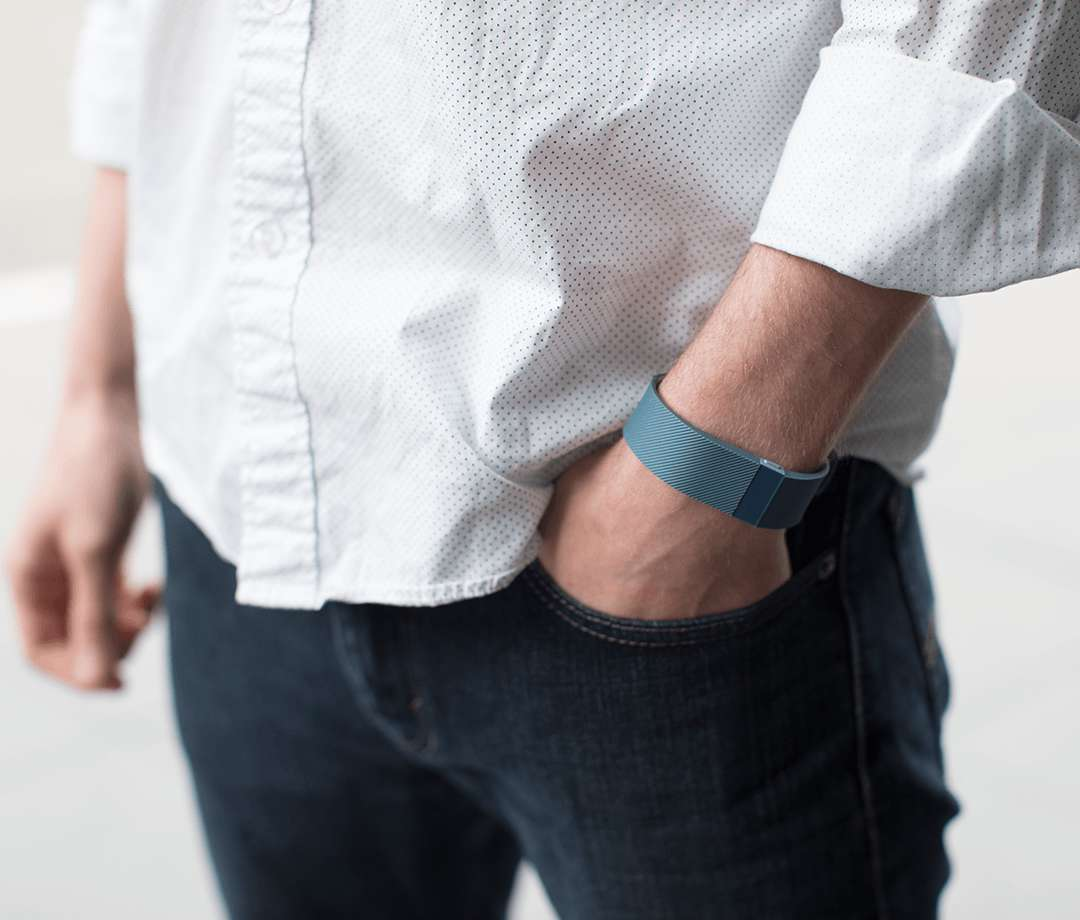 Wearing Fitbit Charge