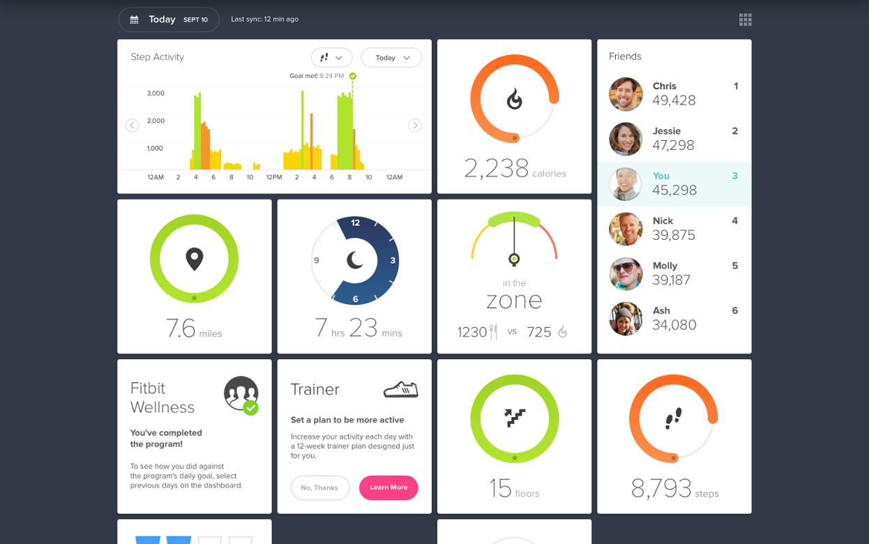Fitbit Zip™ Wireless Activity Tracker
