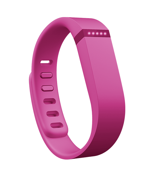 Keep an eye on your fitness goals and monitor your daily physical activity with the FitBit Flex Wireless Wristband. It is compatible with Bluetooth-enabled smartphones, and it records your heart rate, steps walked, and several other vital statistics.